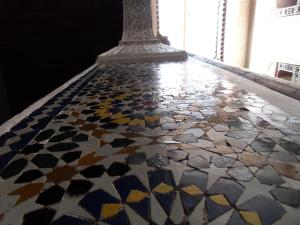 zellij, Moroccan tile work, Morocco, House in Fez