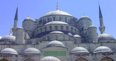 Istanbul Attractions, Blue Mosque, Sultan Ahmet Mosque, Turkey