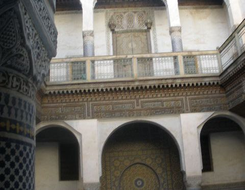 The Glaoui (Glaoua) Palace in Fes, Morocco