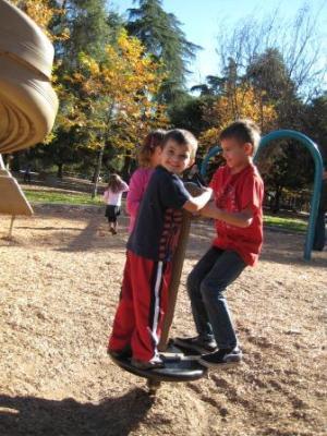 Kids in Ojai