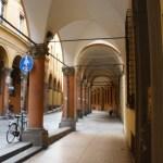 Portico Walk in Bologna