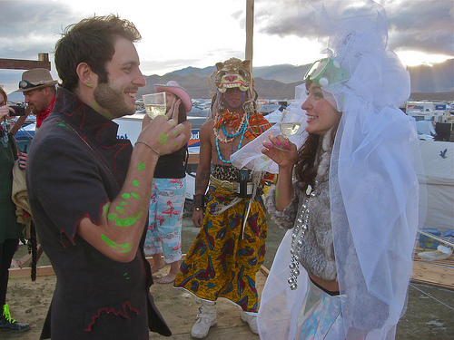 International Marriage can be Exotic and Wild