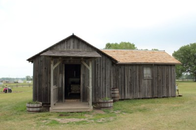 Little House on the Prarie - the recreation of the house