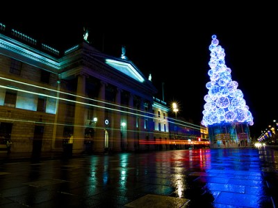 Dublin Christmas Lights cc image by Sebastion Doris on Flickr