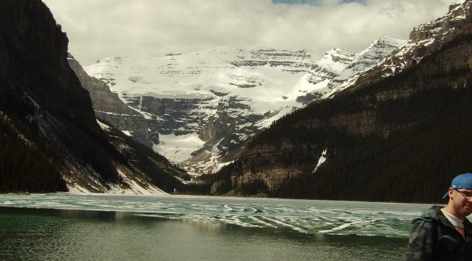 Lake Louise and Half a Canadian Stranger