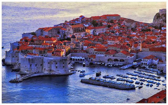 Dubrovnik in the Mediterranean