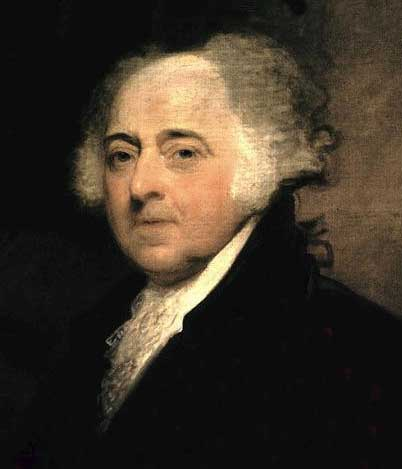 John Adams, the second President and father of the sixth President (John Quincy Adam)