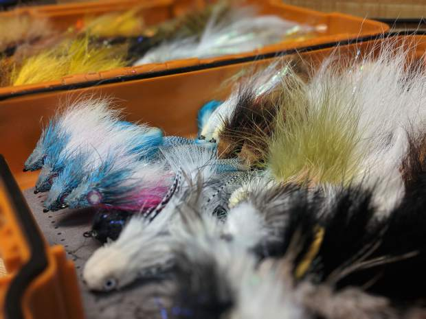 Kyle Best streamers for fall fishing in Colorado (column
