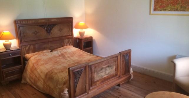 Gele slaapkamer - Vakantiehuis AuvergneVakantiehuis Auvergne