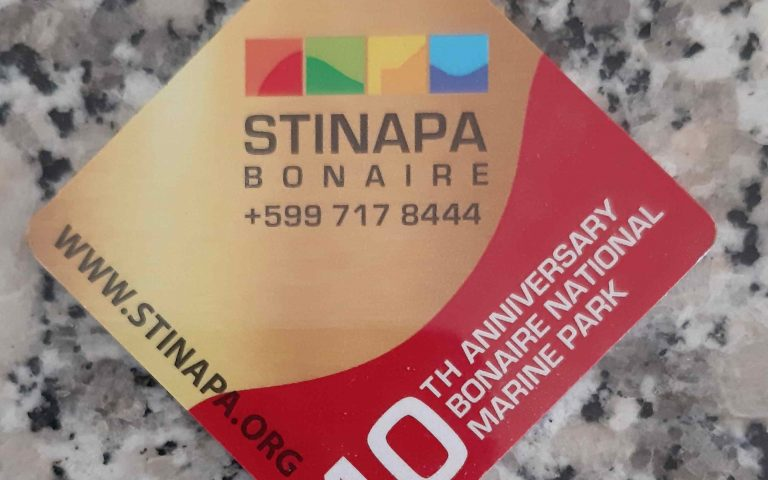 Stinapa nature fee tag 2019