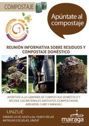 Jornada informativa para apuntarse al compostaje doméstico