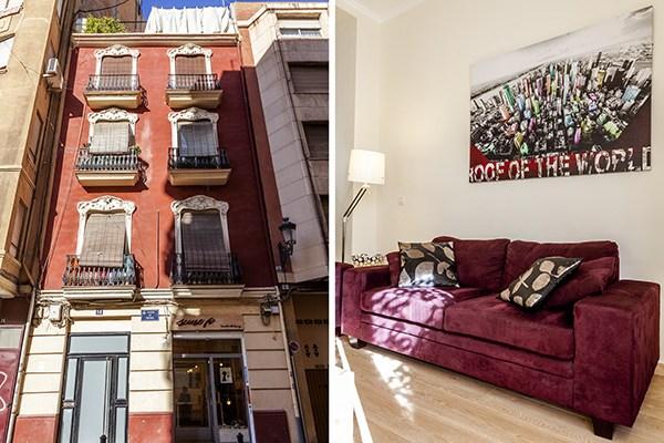 Bel Appartement Louer Valence Valencia Flat Rental
