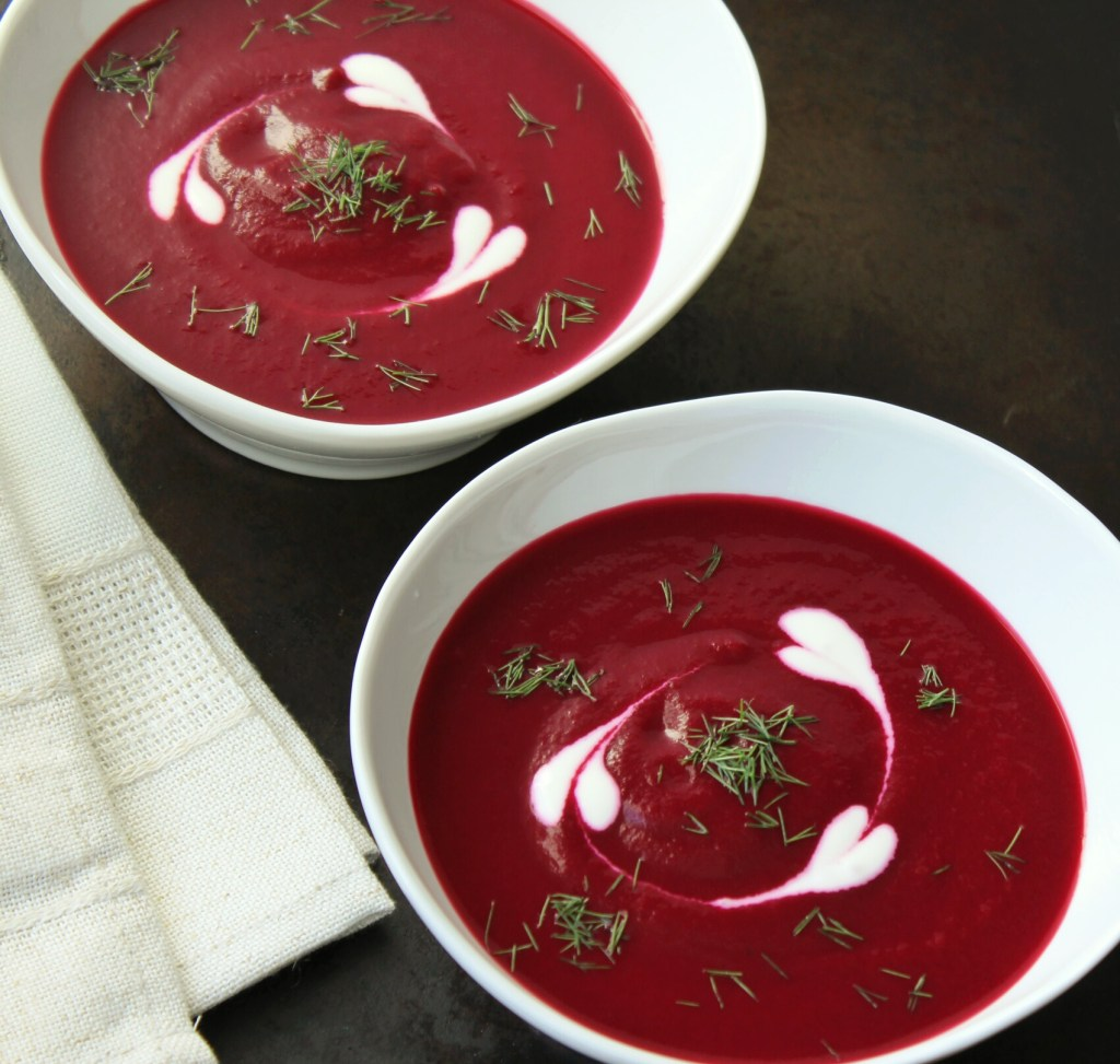 how to cut beets for soup