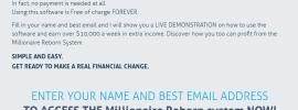 Millionaire Reborn Scam