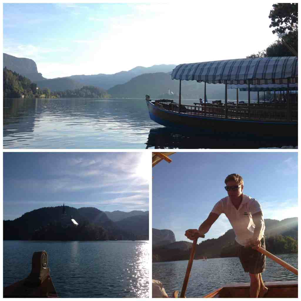 Boat trips on Bled Lake Slovenia
