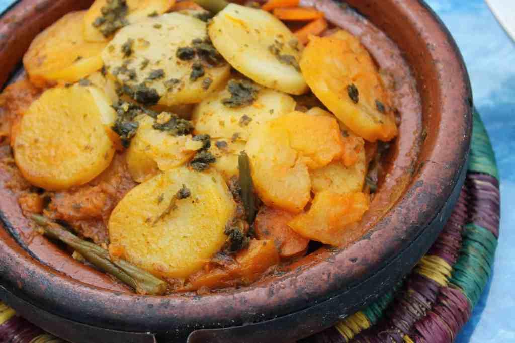 Moroccan vegetable tajineMoroccan vegetable tajine