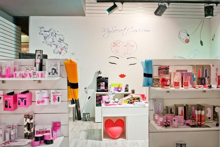 Il temporary store di Mysecretcase al Lingotto di Torino