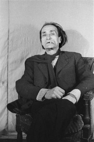 El escritor Antonin Artaud