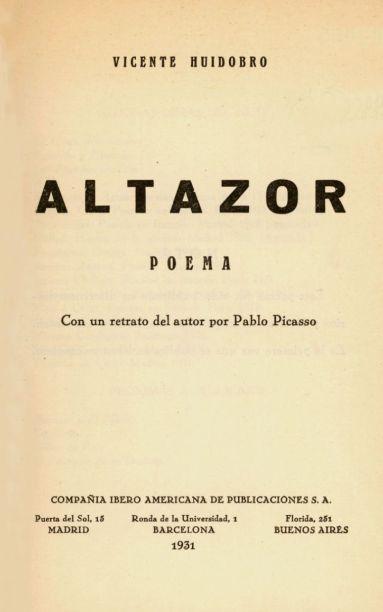 Altazor_-_Poema