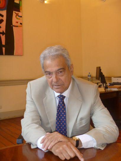 El poeta Antonio Cisneros (1942-2012) Crédito de la foto Bruno Pólack, 2012.