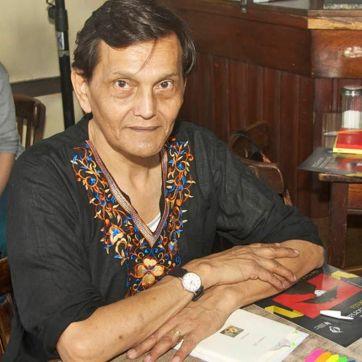 El poeta Alfredo Luna.