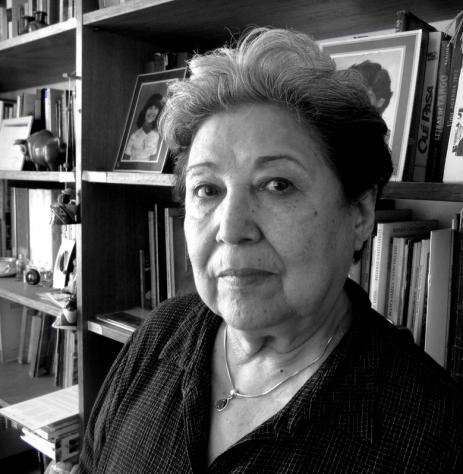 La poeta Carmen Berenguer.