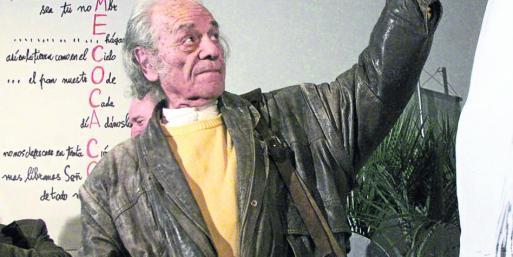 El poeta Nicanor Parra
