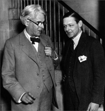 W.B. Yeats con T.S. Eliot