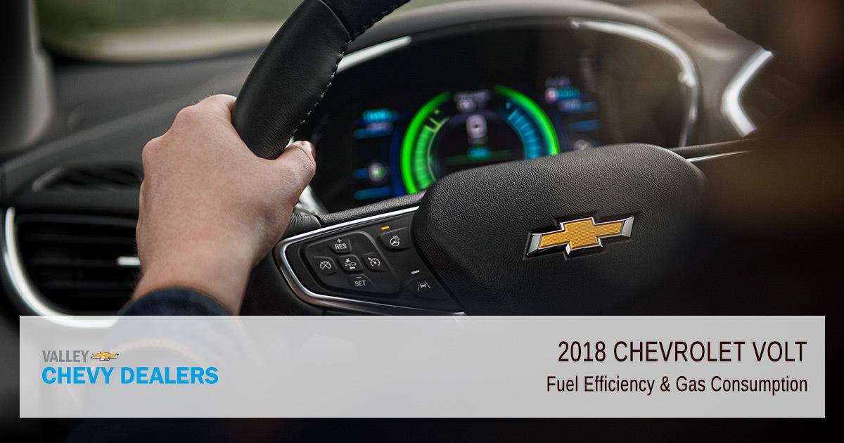 2018 Chevrolet Volt Fuel Economy  Gas Mileage (MPG) Valley Chevy