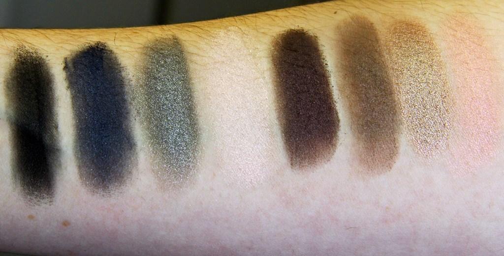 Narsissist Dual Intensity Eyeshadow PaletteKimHutchison(wet_swatches)