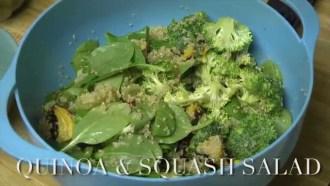 Valley Presents: A Dash of Healthy – Quinoa & Squash Salad