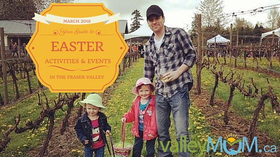 Easter Events and Activities in the Fraser Valley