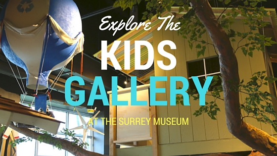 Explore the Kids Gallery at the Surrey Museum