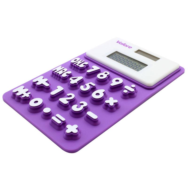Valore Silicone Pocket Size Calculator (V-CAL5100) Valore