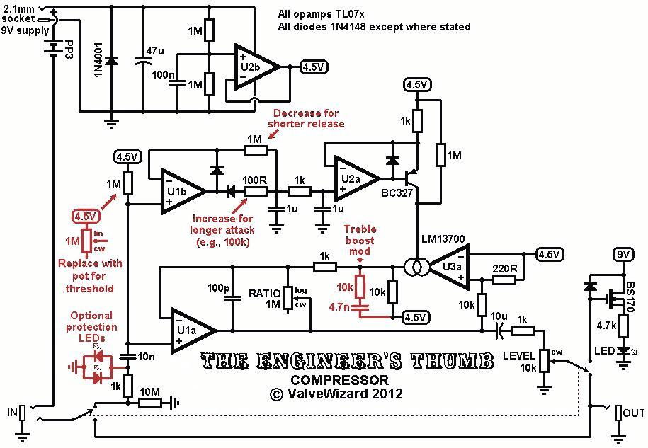 compressor circuit diagram