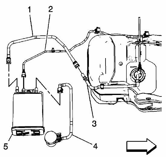 2008 gmc envoy Diagrama del motor