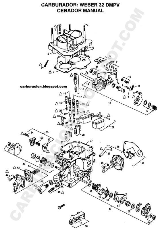 ARO Diagrama del motor