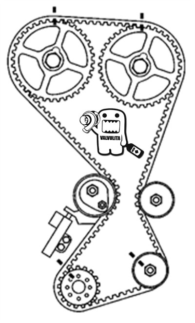 03 hyundai santa fe Diagrama del motor