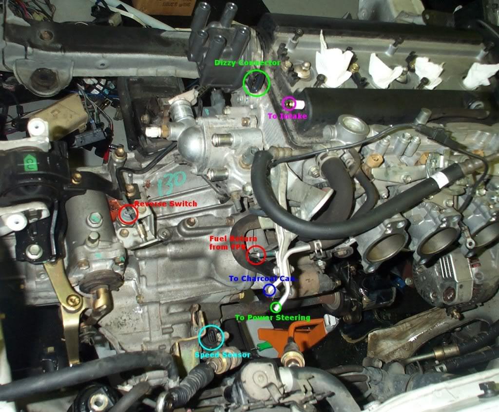 B Cat 5 Cable Wiring Diagram Guia Completa De Sensores Del Motor Toyota 4age 20v Tapa Negra