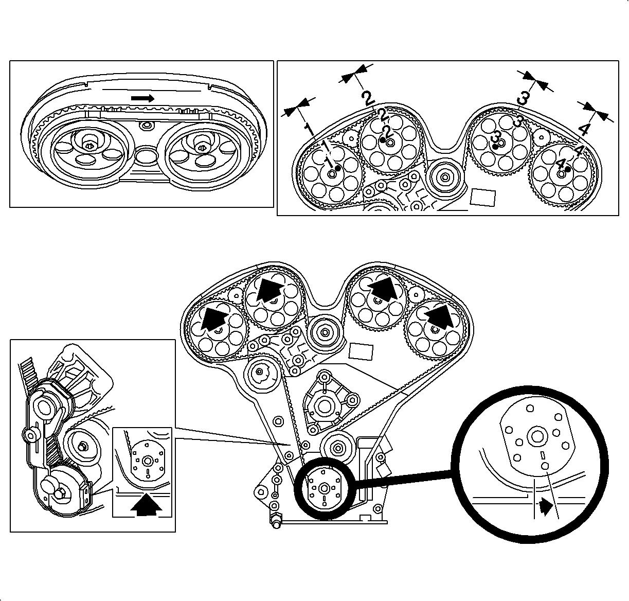 vue saturn 3 0 Diagrama del motor
