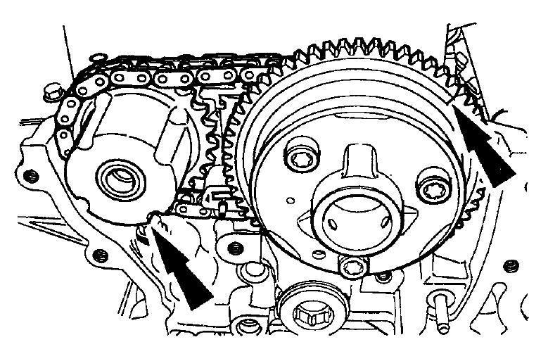 2004 lincoln ls Diagrama del motor
