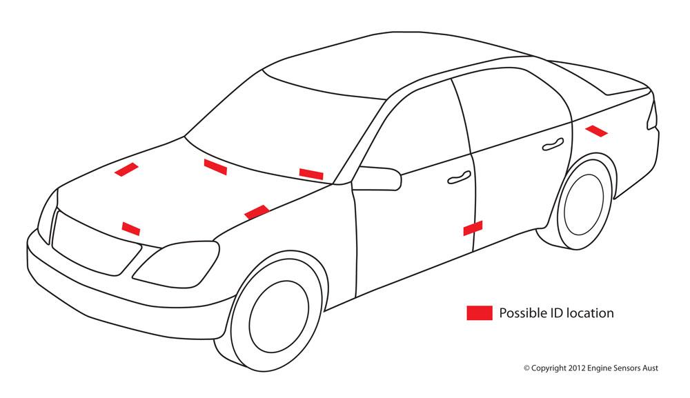 2008 cadillac cts Diagrama del motor