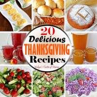 20 Delicious Thanksgiving Recipes