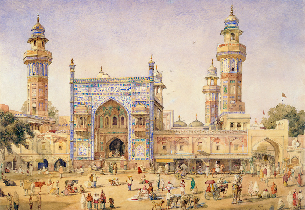Mughals  the Royal City of Lahore - Victoria and Albert Museum - mughal empire