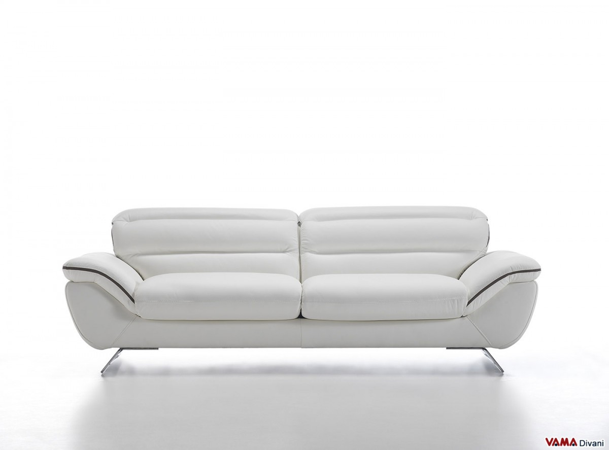 Contemporary White Leather Sofa The 25 Best White Leather
