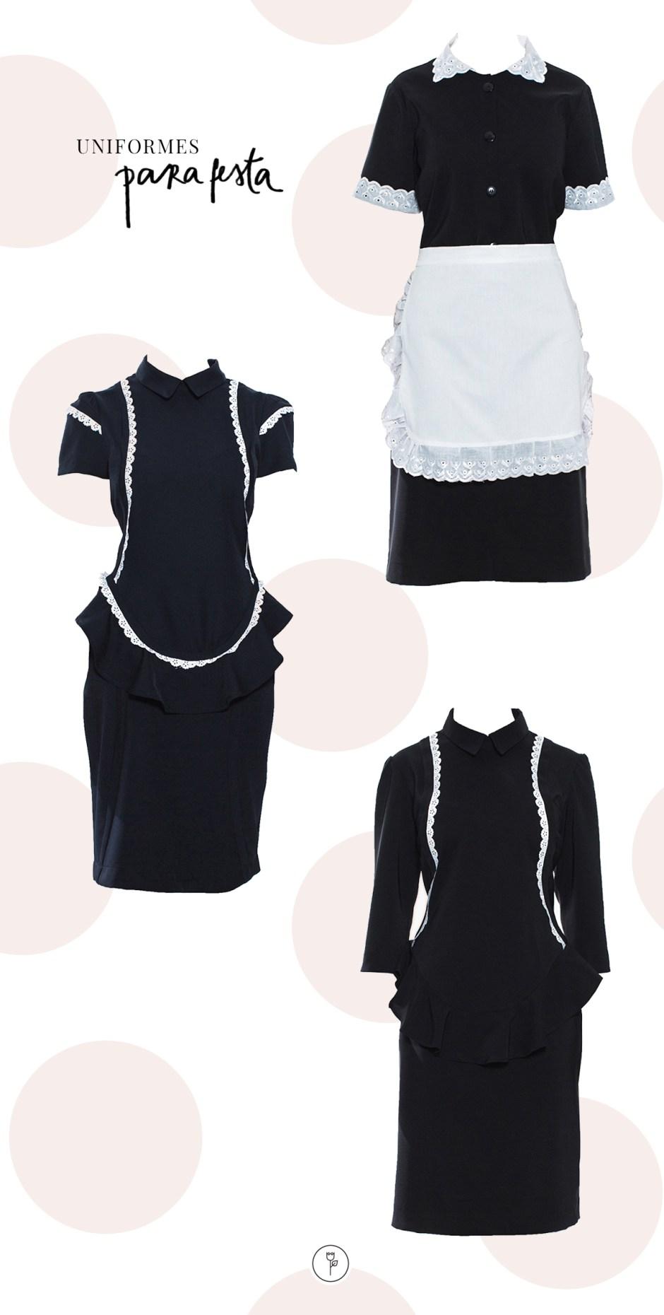 22-08 uniformes para casa - uniforme festa