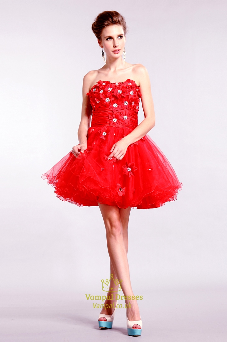 Genial Red Strapless Homecoming Short Red Prom Dresses Sale Short Red Dress Australia Short Red Dress Sleeves Sale Red Strapless Homecoming Short Red Prom Dresses wedding dress Short Red Dress