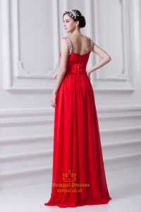 Red Prom Dresses With Sequins Straps,Red Prom Dresses Open ...