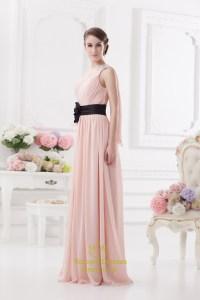Light Pink One Shoulder Prom Dress ,One Shoulder ...