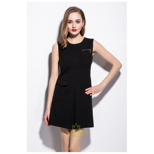 Medium Crop Of Simple Black Dress
